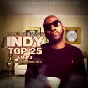 Indy Top 25 3 mixtape cover art