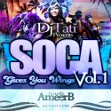 Soca Gives You Wings (Hosted By Ameer B) mixtape cover art