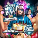 #HappyBirthdayDjTazmania (Personal Favorites) mixtape cover art