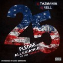 Pledge Allegiance To The Streets 25 mixtape cover art