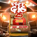 Free Gas 25 mixtape cover art