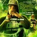 J-Mon The Don - Reggie Miller mixtape cover art