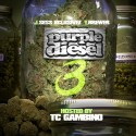 Purple Diesel 3 mixtape cover art