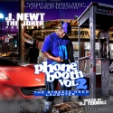 J. Newt The Joker - Phone Booth 2 (The Streetz Need Laughter) mixtape cover art