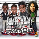 Travis Porter & Waka Flocka Flame - Streets R Us mixtape cover art
