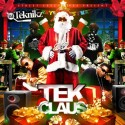 Tek Claus mixtape cover art