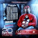 Dubb 20 - 20 Minutes mixtape cover art