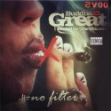 Buddha Da Great - #NoFilter mixtape cover art