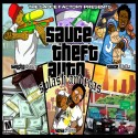 Sauce Twinz & SosaMann - Sauce Theft Auto mixtape cover art
