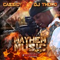 Cassidy - Mayhem Music (AP3) mixtape cover art