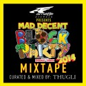 2014 Mad Decent Block Party Mix mixtape cover art