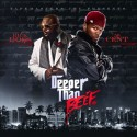 Rick Ross & 50 Cent - Deeper Than Beef mixtape cover art