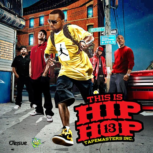 This is hip hop 13 tapemasters inc for Hip hop mixtape covers