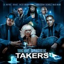 Young Money - Takers mixtape cover art
