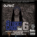 Quake - Street Cred 6 (Product Of My Environment) mixtape cover art