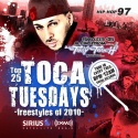 Top 25 Toca Tuesdays Freestyles Of 2010 mixtape cover art