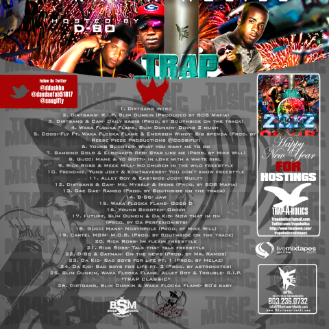 mixtape back cover