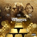 JoseGuapo, XVL Hendrix & XVL Shot - From Crumbs To Bricks mixtape cover art