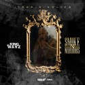 King Wayz - Smoke & Mirrors mixtape cover art