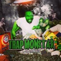 Kush Man Ballin - Trap Monstar mixtape cover art