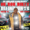 OG Boo Dirty - Definition Of A G mixtape cover art