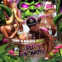 Plies - The Pussy Monster mixtape cover art