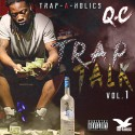 Q.C - Trap Talk mixtape cover art