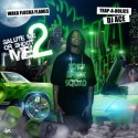 Waka Flocka Flame - Salute Me Or Shoot Me 2 mixtape cover art