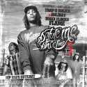 Waka Flocka Flame - Salute Me Or Shoot Me 3 (Hip Hops Outcast) mixtape cover art