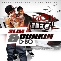 Slim Dunkin & D-Bo - Block Illegal mixtape cover art