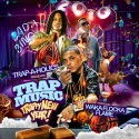 Trap Music (Trappy New Year!) mixtape cover art