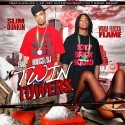 Waka Flocka Flame & Slim Dunkin - Twin Towers mixtape cover art