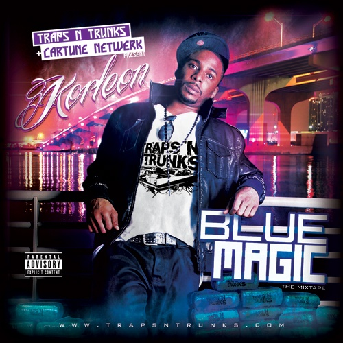 Korleon – Blue Magic (Hosted by Traps N Trunks & Cartune Netwerk) [Mixtape]