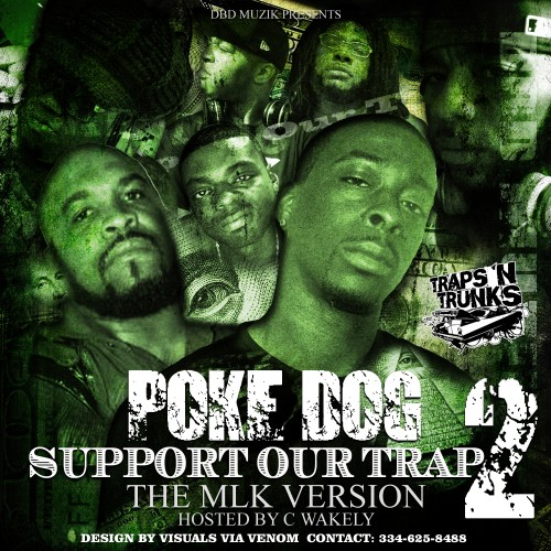 Poke Dog – Support Our Trap 2 [Mixtape]