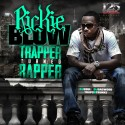 Rickie Blow - Trapper Turned Rapper mixtape cover art