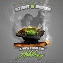 Stunt N Dozier - A View From The Ashtray mixtape cover art