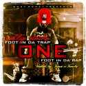 Sully Stacka - One Foot In Da Trap, One Foot In Da Rap mixtape cover art