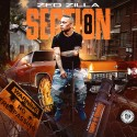 Zed Zilla - Section 8 mixtape cover art