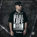 B Milli - Real Life, No Gimmicks mixtape cover art