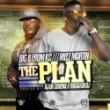 Big B From KC & Meez Martin - The Plan mixtape cover art