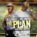 Big B From KC & Meez Martin - The Plan mixtape cover art