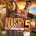 Industry Nitemares 5 (Hosted By Woop & Zach Farlow) mixtape cover art