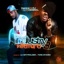 Industry Nitemares 8 (Hosted By LA SkyyWalker & Yung Stakks) mixtape cover art
