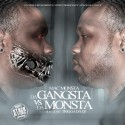 Mac Monsta - Tha Gangsta Vs. Tha Monsta mixtape cover art