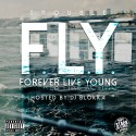 Trouble - F.L.Y. (Forever Live Young) mixtape cover art