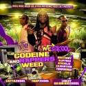 We2Kool - Codeine & Rappers Weed mixtape cover art