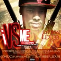L Dubb - I vs Me mixtape cover art