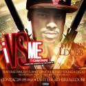 L Dubb - I vs Me mixtape cover art