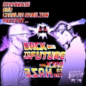Corporate & Charles Hamilton - Back To The Future, Back To The Haze mixtape cover art