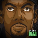 Cy Harp - Dead Serious mixtape cover art